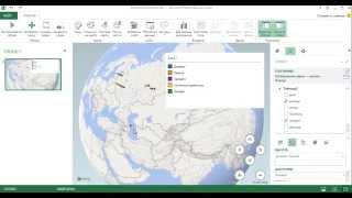 Карта в Excel. Часть 1.