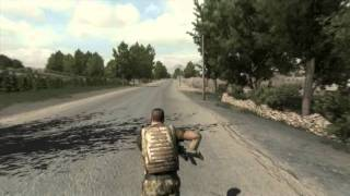 ARMA II Reinforcements GTX 580 Gameplay