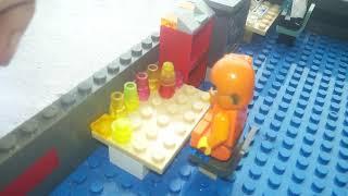 Лего самоделка: лаборатория,военная машина