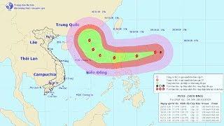 Siêu bão Yutu với sức gió tới 200km/h, giật cấp 17 gần Biển Đông