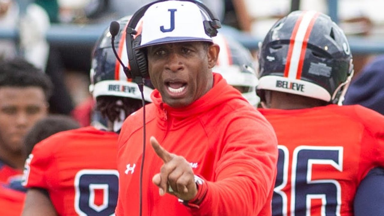 Deion Sanders, 'Coach Prime,' wins debut as Jackson State football ...