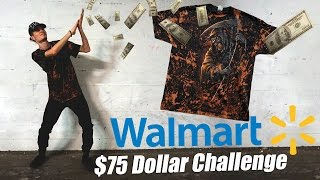 Killing the $75 Wal-Mart Challenge!! The BEST Outfit Yet!