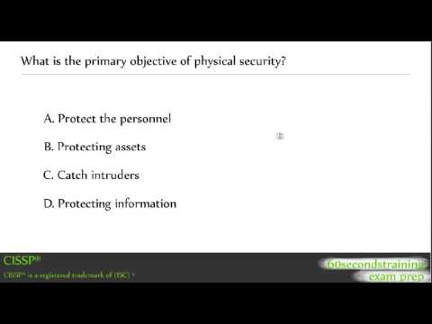 CISSP - physical security