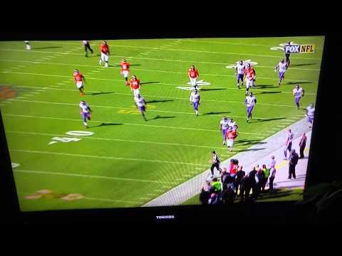 Broncos RB Ronnie Hillman busts a 75+ yard TD rush