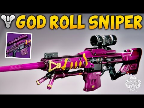 Destiny: MY ONLY GOD ROLL SNIPER! Her Benevolence Legendary Sniper Rifle (Live Crucible Gameplay)