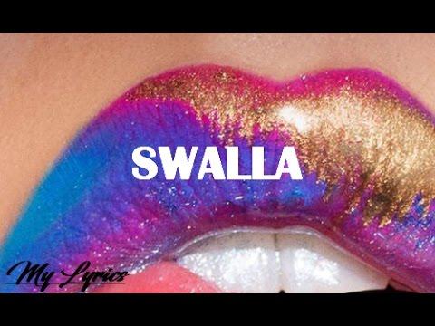 Jason Derulo - Swalla featuring Nicki Minaj & Ty Dolla $ign  (Official Lyrics Video)
