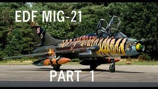 Edf Mig 21 Build  (part 1)