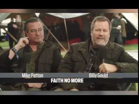 FAITH NO MORE - Interview with Mike Patton and Billy Gould (2015)