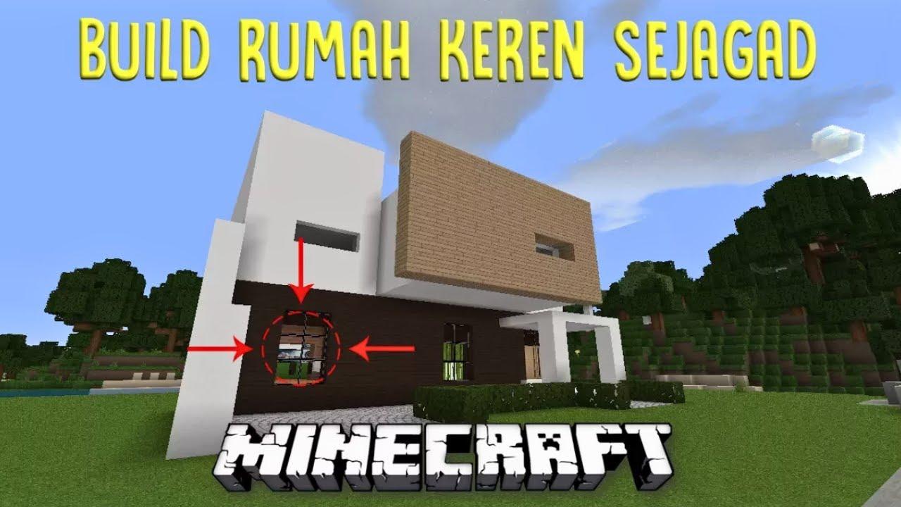TUTORIAL MEMBUAT RUMAH MODERN KECE #1 & TUTORIAL MEMBUAT RUMAH MODERN KECE #1 - YouTube