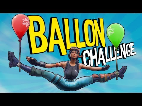 Mit Luftballons gewinnen | Fortnite Battle Royale