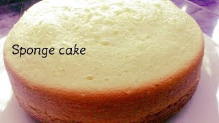 SOFT SPONGE CAKE WITHOUT OVEN