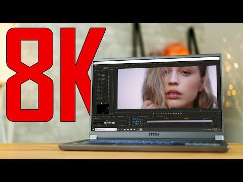 Full 8K RAW Editing on a Laptop!