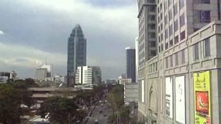 2008/08/31 【車窓】 バンコク BTS スカイトレイン / Bangkok BTS Skytrain: Chit Lom - Phloen Chit