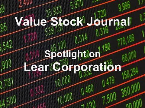 VSJ Spotlight on Lear Corp