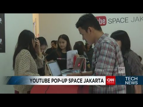 Youtube Pop-Up Space Jakarta