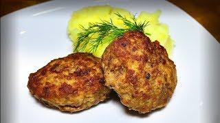 Вкусные котлеты по бабушкиному рецепту с картофелем пюре Просто и очень вкусно