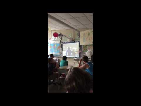 Skyping with Wellstone International High School in Minneapolis, MN