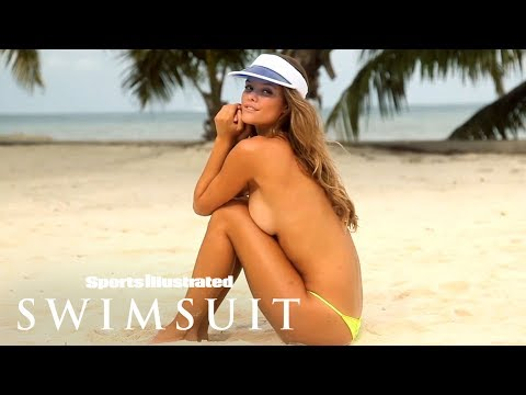 Nina Agdal Strips Down, Plays Around In The Sand | Uncovered | Sports Illustrated Swimsuit