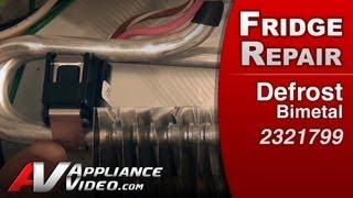 Defrost Bimetal - Refrigerator Repair (whirlpool Replacement Part # 2321799)