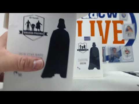 2018 Hit Parade Star Wars Graded Figure - Series #1- 5-box- DACW Live 5 Spot Break #1
