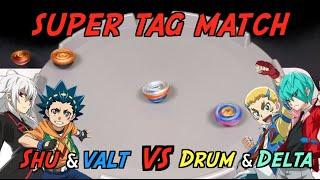 [SUPER MATCH] Shu&Valt VS Drum…