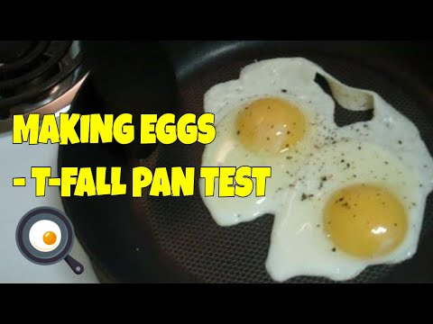 MAKING EASY EGGS IN OUR NEW PANS! - T-Fal Cookware Tests
