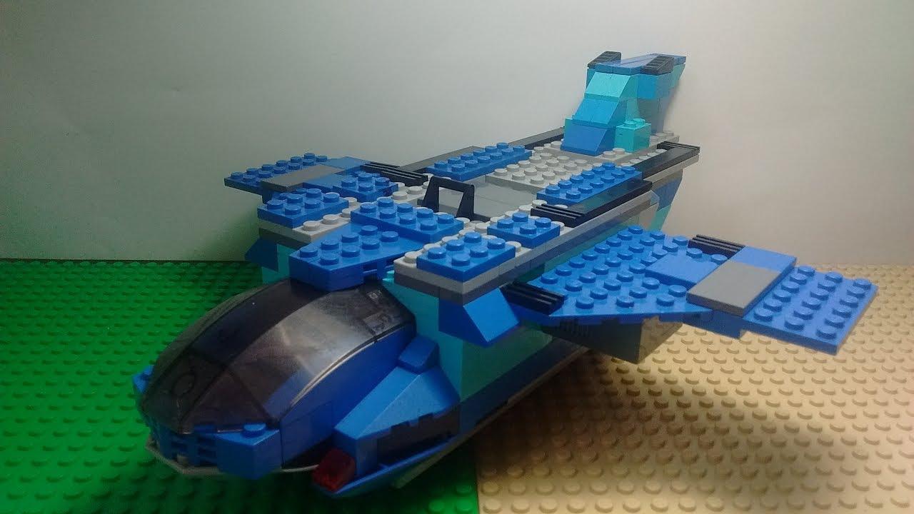 Nave Espacial Lego Moc Youtube