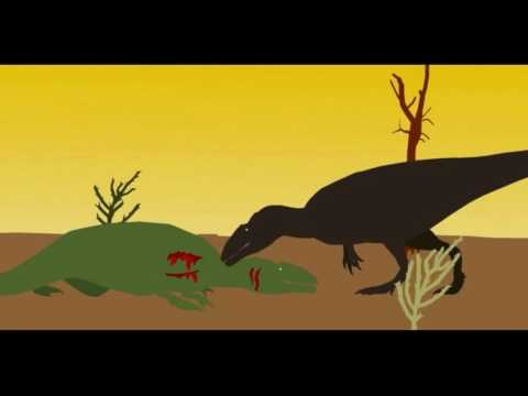 Pivot Carcharodontosaurus fight resounded