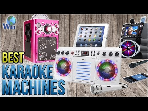 8 Best Karaoke Machines 2018