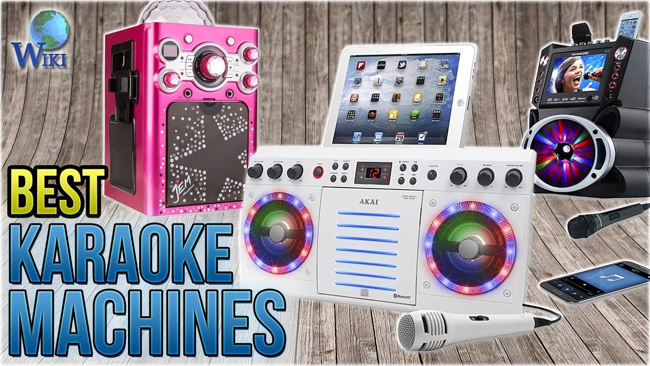 Best Karaoke Machine 2020 8 Best Karaoke Machines 2018   YouTube
