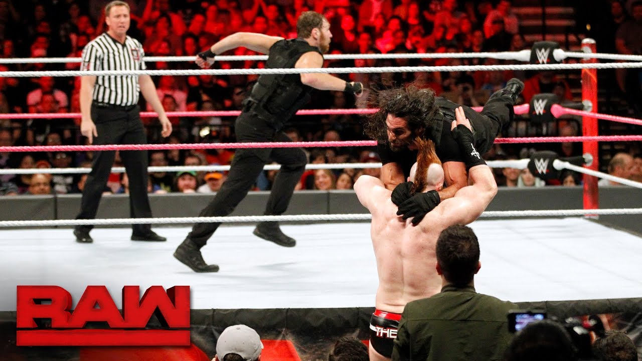 seth-rollins-dean-ambrose-vs-cesaro-sheamus-raw-tag-team-titles-match-raw-oct-16-2017