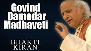 Govind Damodar Madhaveti - Pandit Jasraj (Album: Bhakti Kiran)