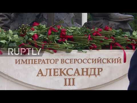 Russia: Putin unveils Tsar Alexander III monument in Yalta