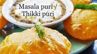 Masala Poori Recipe   Spicy Poori Recipe