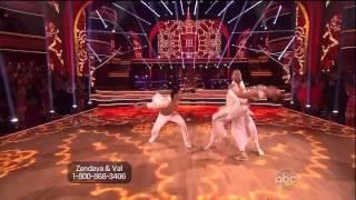 Zendaya, Val & Gleb - Taniec z gwiazdami - tydzień 8 - Salsa