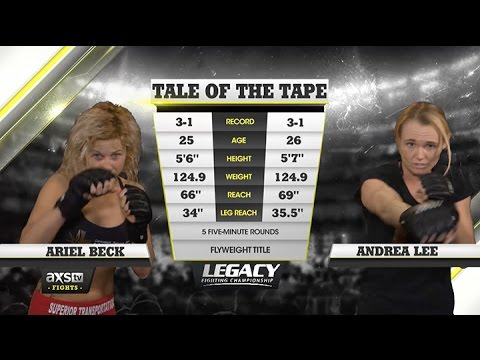 2015 Fight of the Year: Andrea Lee With Submission Attempt After Submission Attempt vs. Ariel Beck