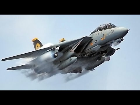 F-14 Tomcat vs Libya MiG-23 Dogfight