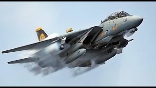 F-14 Tomcat vs MiG-23 Dogfight
