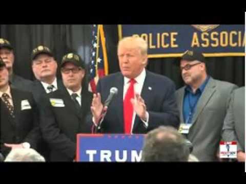 Trump Presser/ Staten Island 4/17/16