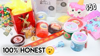 100% HONEST HOSHIMI SLIMES REVIEW (CHINESE DIY SLIME KIT, FRENCH FRIES, +MORE) $50?!