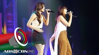 Sue Ramirez, Maris Racal perform