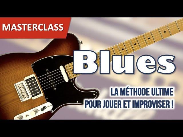 Découvrez le Masterclass Blues : toutes les infos !
