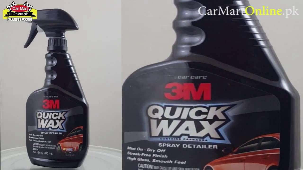 3m quick wax spray polish youtube. Black Bedroom Furniture Sets. Home Design Ideas