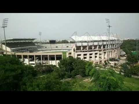 Beautiful Unseen View of Rajiv Gandhi International Cricket Stadium Hyderabad Uppal