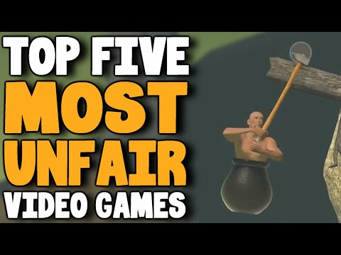 Top Five Most Unfair  Games  rabbidluigi