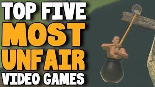 Top Five Most Unfair Video Games - rabbidluigi