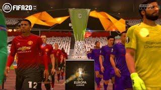 Manchester United vs Liverpool ~ UEFA Europa League Final 19/20 ~ FIFA 20 Game Play