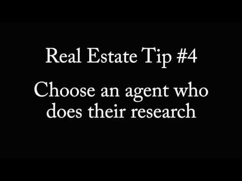 Tip #4 Choose an Agent Who Does Their Research