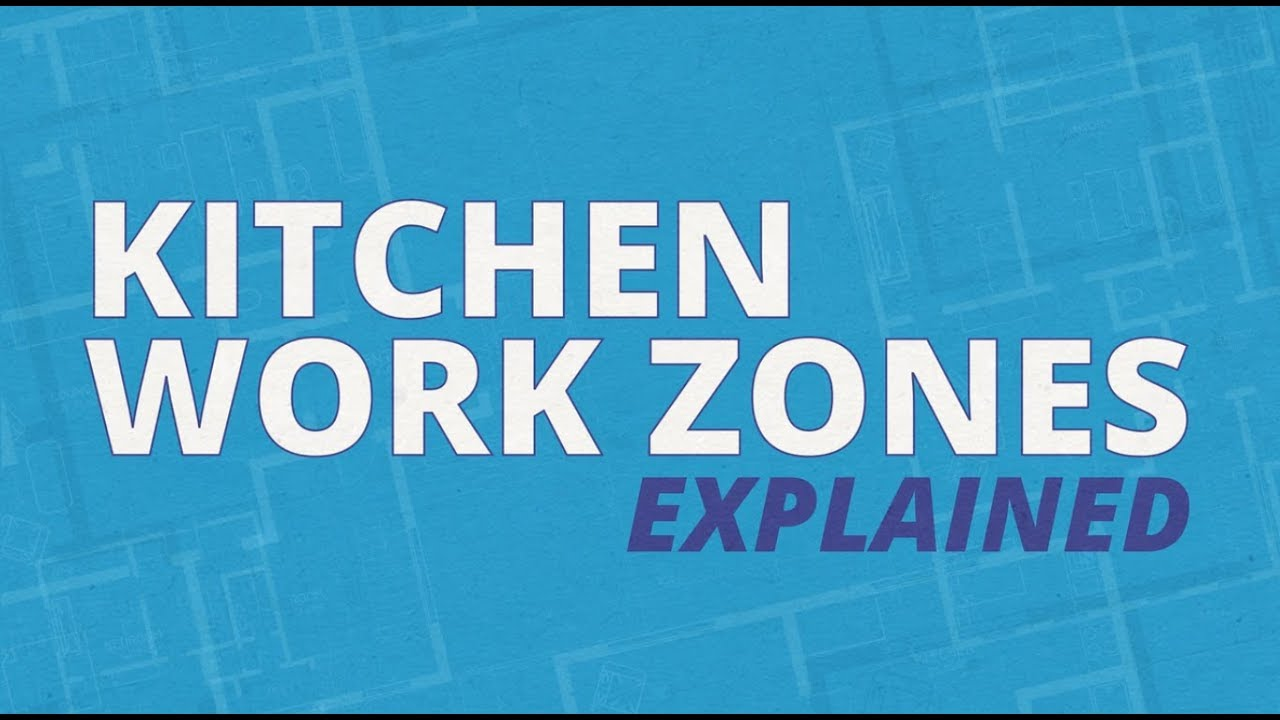 Kitchen Work Zones Explained — Kitchen Design Tips from Sears Home  Improvement