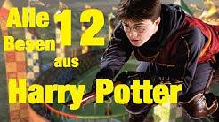 Die 12 Flugbesen Marken aus Harry Potter